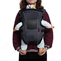 Baby Carrier Backpacks Ergonomic Soft Breathable Infant Carrier with Comfortable Cool Air Flow Mesh for All Season, Adjustable Safe Baby Carrier Perfect for Nursing Newborn, Infant & Toddler