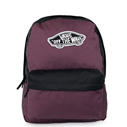 Vans Realm Backpack Mochila Tipo Casual 42 Centimeters 22 Morado (Prune-Black)
