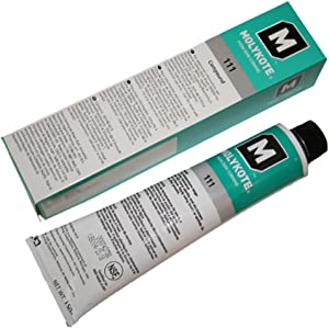Molykote DOW 111 Lubricant & Sealant, 5.3 oz. Tube