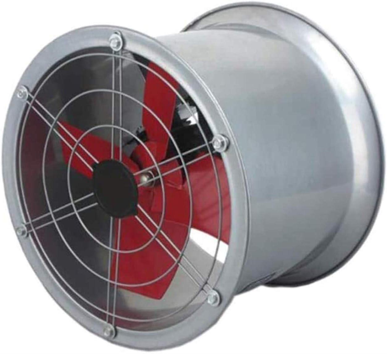 Conducto del ventilador de flujo mixto de 200 mm en línea, conducto Extractor industria del ventilador Ventilaltion Ventilador for baño, el volumen de oficina, hotel, pasillo, hidropónico, Aire: 1680m