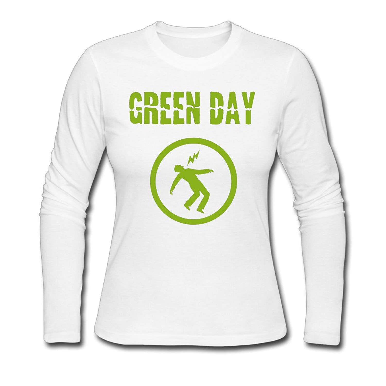 OB Women's Green Day Logo Long Sleeve T-shirt