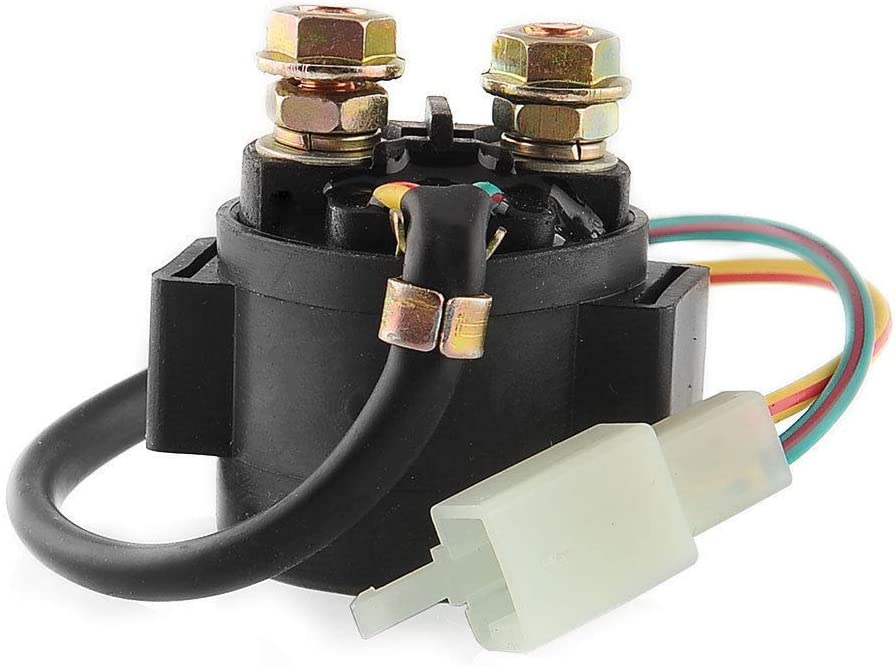 amazon.com: whatapart starter relay solenoid compatible with tomberlin crossfire  150 150r 150cc go kart cart: sports & outdoors  amazon.com