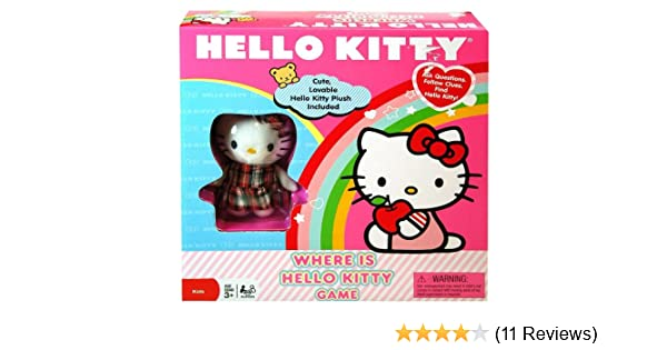 84a255441 Amazon.com: Cardinal Industries Where is Hello Kitty? Game: Toys & Games