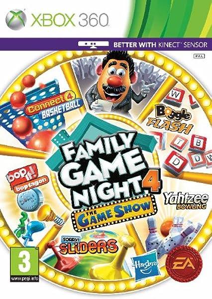 Hasbro Family Game Night 4: The Game Show Edition (Xbox 360) [Importación inglesa]: Amazon.es: Videojuegos