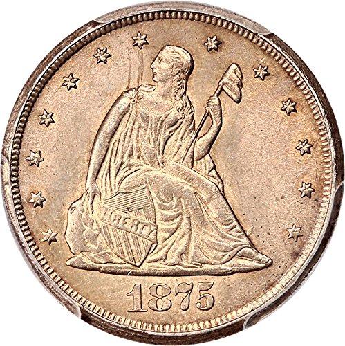 1875 CC 20-Cent Pieces Twenty Cent Piece 94 PCGS