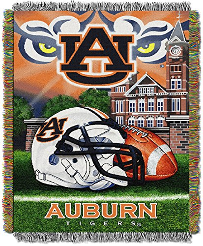 The Northwest Company Auburn University Tigers Throw Blanket Afghan Tapestry
