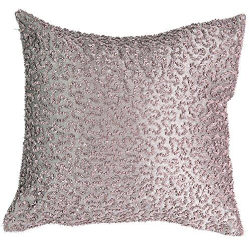 Beautyrest Henriette Sequin Decorative Pillow, 14x14, Lavender ()