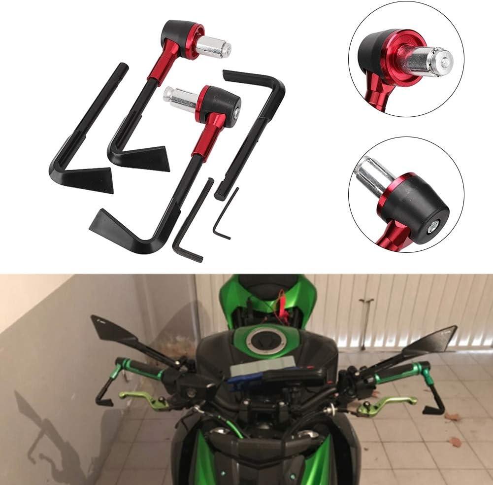 noir Protection de poign/ée de moto accessoire leviers de protection de frein de moto CNC Protector Guard pour guidon de moto