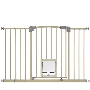 Merveilleux Paws U0026 Pals Dog Gate Multifunctional Indoor Metal Baby Barrier   Adjustable  Tall Wide Fence