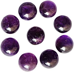 Mix Lot Amethyst Less Gemstone use for Jewelry Making RG-A136 Awesome Natural Amethyst Less Cabochon 47 Cts