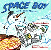 Space Boy and the Snow Monster