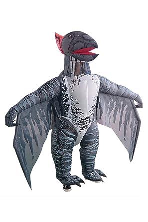 Snuter Disfraz de dinosaurio adulto inflable Disfraz de ...
