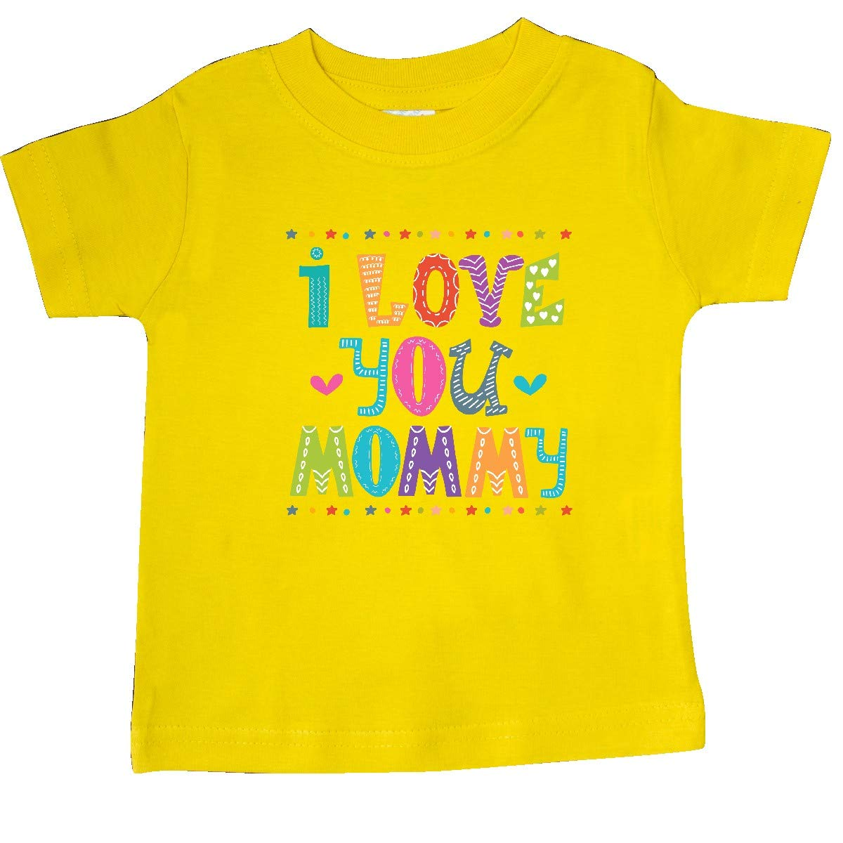inktastic I Love You Mommy Baby Outfit Baby T-Shirt