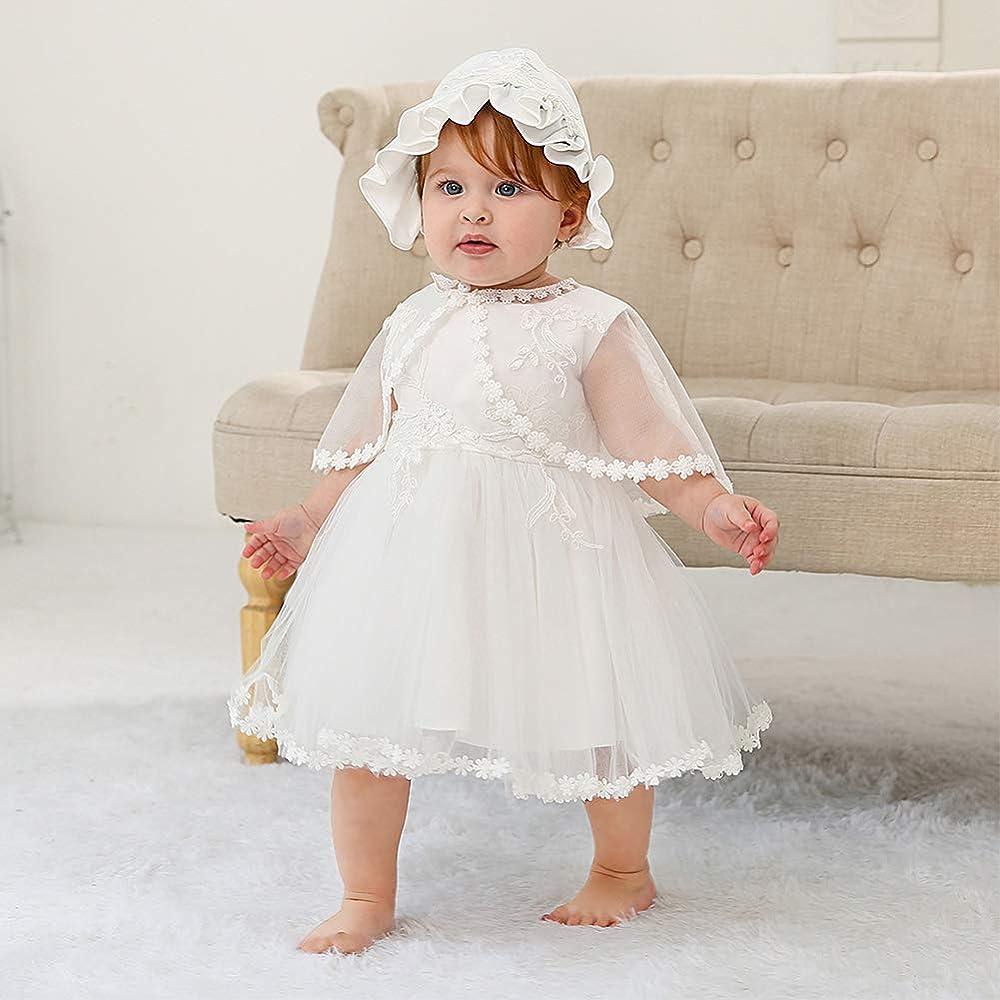 رقيق ميل أستعد baptism dress for newborn girl