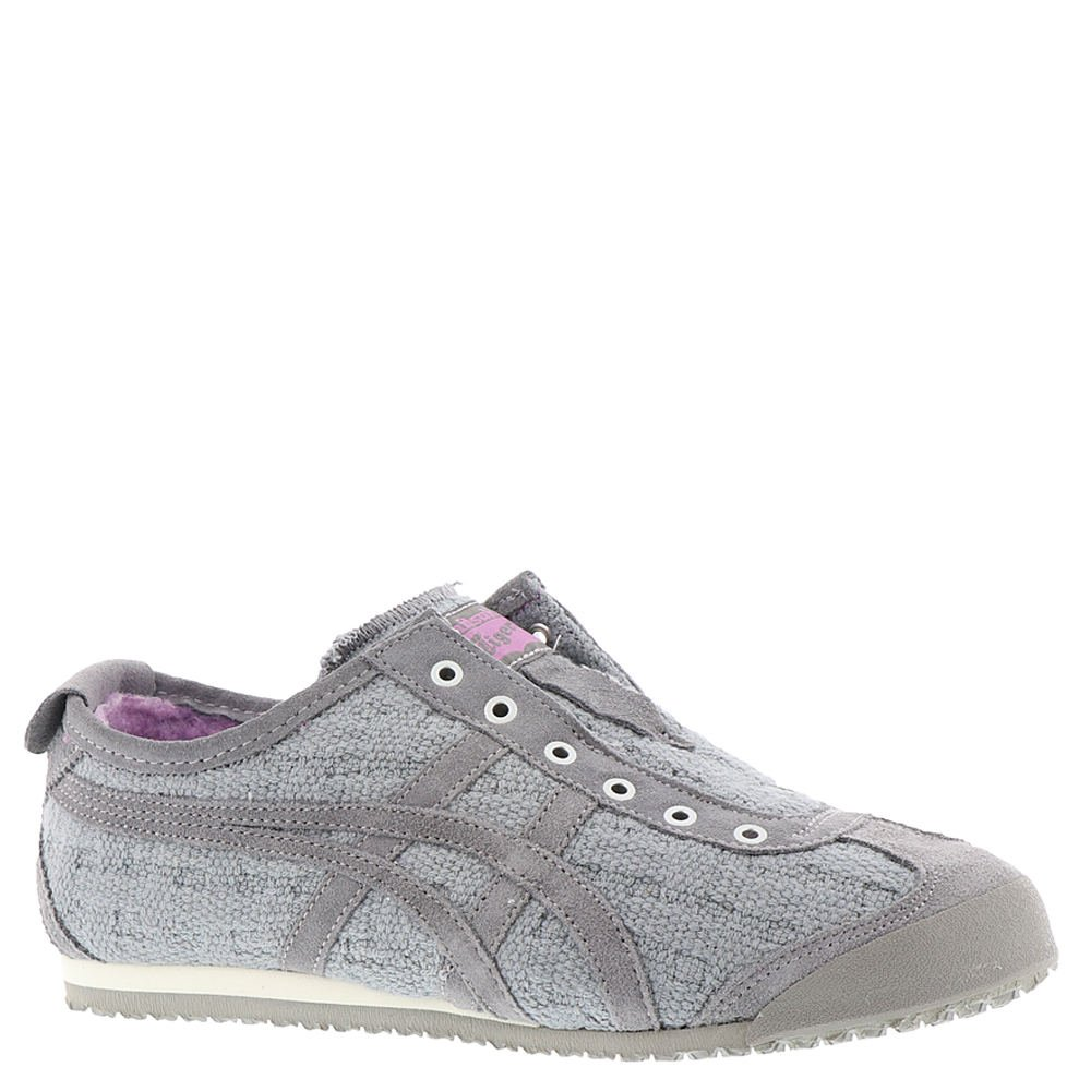 725b0df59bd76 Onitsuka Tiger by Asics Women's Mexico 66 Slip-On Aluminum/Aluminum 9 B US