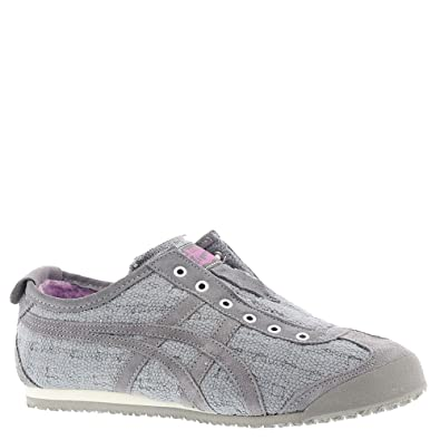 online store 0b43a f1155 Onitsuka Tiger Women's Mexico 66 Slip-on Shoes D7L8N, Aluminum/Aluminum, 9  M US