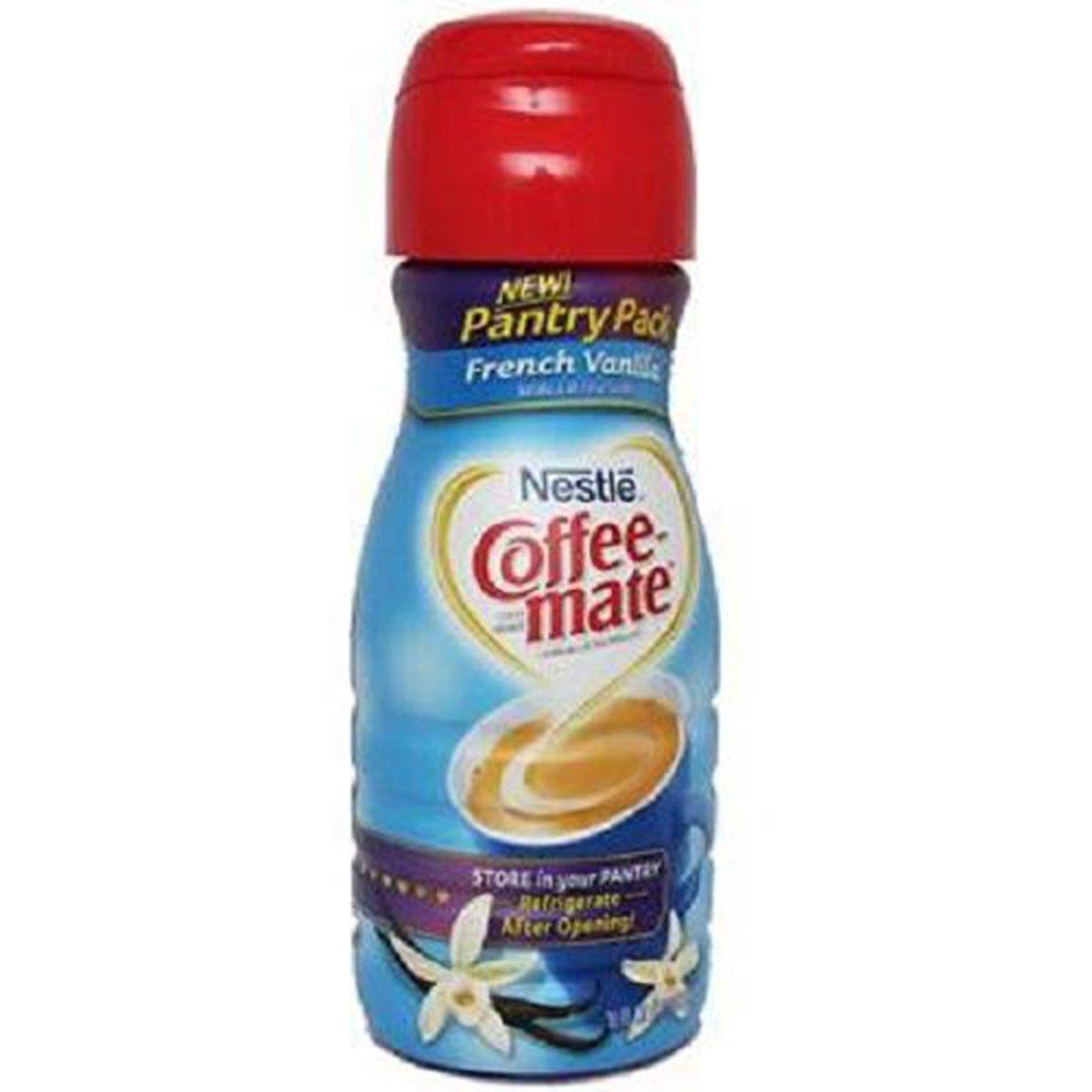 Product Of Nestle Coffee-Mate, Coffee Creamer Liquid - French Vanilla, Count 1 - Coffee Creamer / Grab Varieties & Flavors