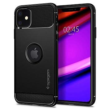 iPhone 11 ケース ラギッド・アーマー 076CS27183 (マット・ブラック)