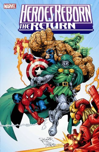 Heroes Reborn: Captain America TPB (Graphic Novel Pb) by Rob Liefeld (Artist, Author), Joe Phillips (Artist), Joe Bennett (Artist), (29-Nov-2006) -