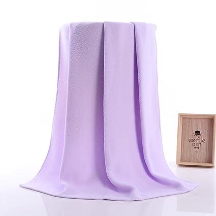 iluci 34 x 75 cm PREMIUM de algodón suave pelo y toallas de baño toalla de