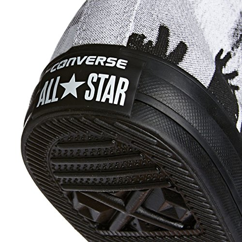 Converse Negro M9160 Negro CT AS HI blanco - blanco