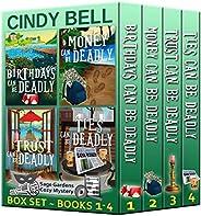 Sage Gardens Cozy Mystery Series Box Set Volume 1 (Books 1 - 4) (Sage Gardens Cozy Mysteries Box Set) (English