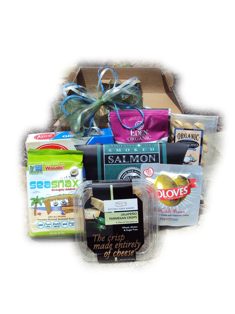 Diabetic Father's Day Healthy Gift Box by Well Baskets