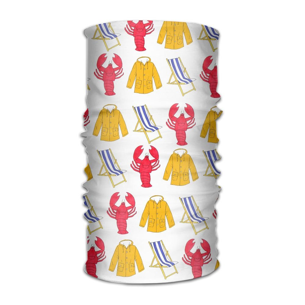 Magic Headwear Lobsters Outdoor Scarf Headbands Bandana Mask Neck Gaiter Head Wrap Mask Sweatband