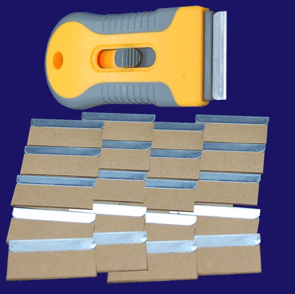 Metall Kunststoff Rasierklingen Einziehbar Einseitige Rasierklinge Halter