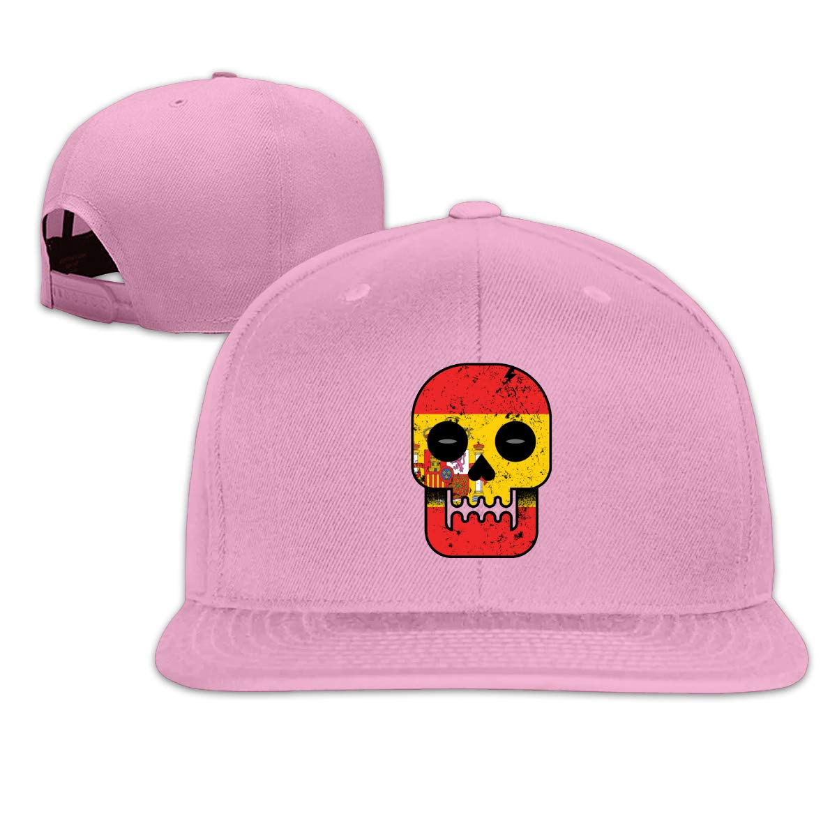 Spain Till I Die Unisex Adult Hats Classic Baseball Caps Sports Hat Peaked Cap Pink