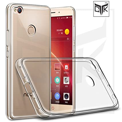 new styles 1a3b4 1c1c6 TheGiftKart Ultra Thin Clear Soft Back Cover for Nubia Z11 Mini S
