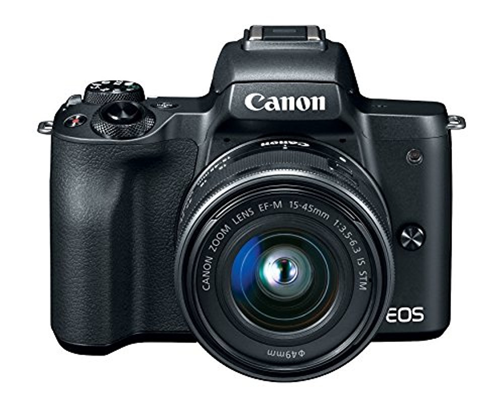 Canon EOS M50 Mirrorless Camera w/15-45mm (Black) + 2 x 32GB + Deluxe Photo Bundle by Canon (Image #2)