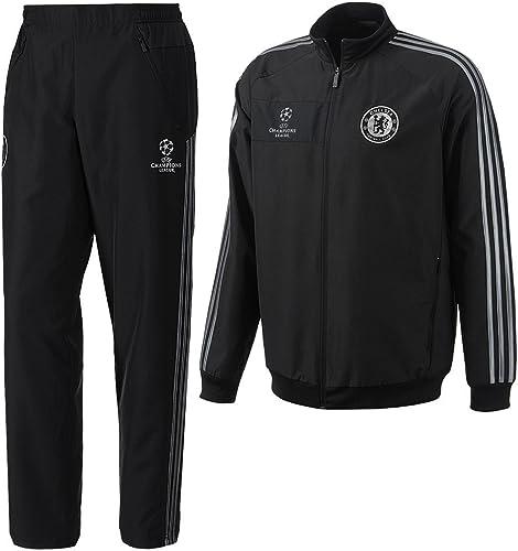 2013 – 14 Chelsea Adidas Chándal de presentación de la UE (Negro ...