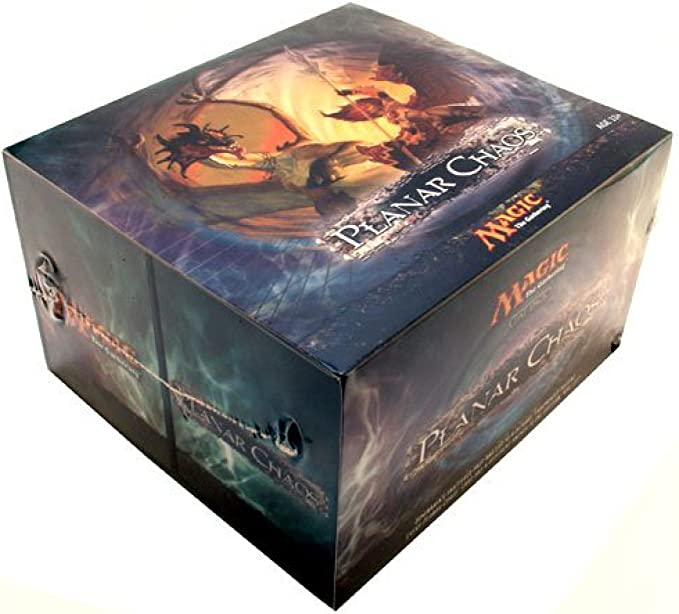Magic: The Gathering – PLANAR Chaos Fat Pack inglés: Amazon.es: Juguetes y juegos