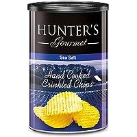 Hunter's Gourmet Hand Cooked Crinkled Chips Sea Salt - 140gm