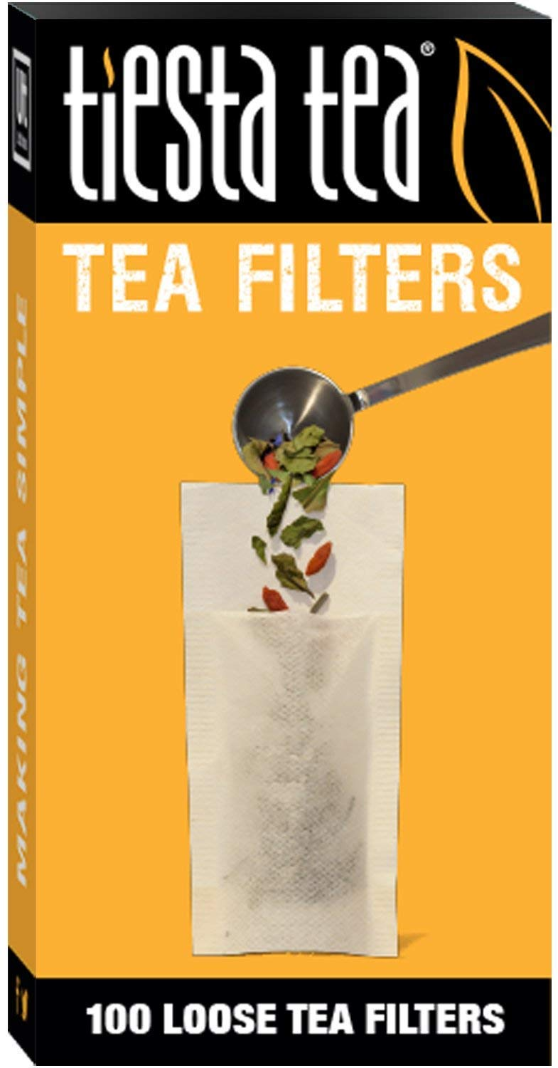 Tiesta Tea Loose Leaf Tea Filters, 690 Count, Disposable Tea Infuser for 690 Cups of Tea (690 Count)