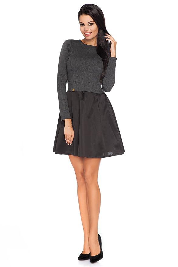 Futuro Mini diferenciado vestido de fiesta con falda tul Style Patineuse mango largo, talla 8-12 FA449: Amazon.es: Ropa y accesorios