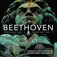 Beethoven:Symphony Nos. 5 & 7 [HONECK, PITTSBURG SYMPHONY ORCHESTRA] [REFERENCE RECORDINGS: FR-718] by Pittsburg SO