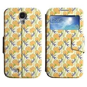 LEOCASE flor linda Funda Carcasa Cuero Tapa Case Para Samsung Galaxy S4 I9500 No.1004740