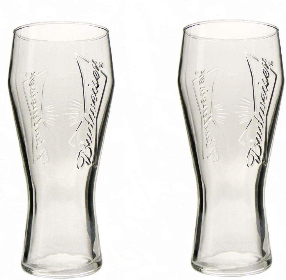 Budweiser 2-Pack Dream Beer Glass 16oz