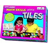 Creative Educational Aids 0943 Let's Learn Math Skills with Tiles