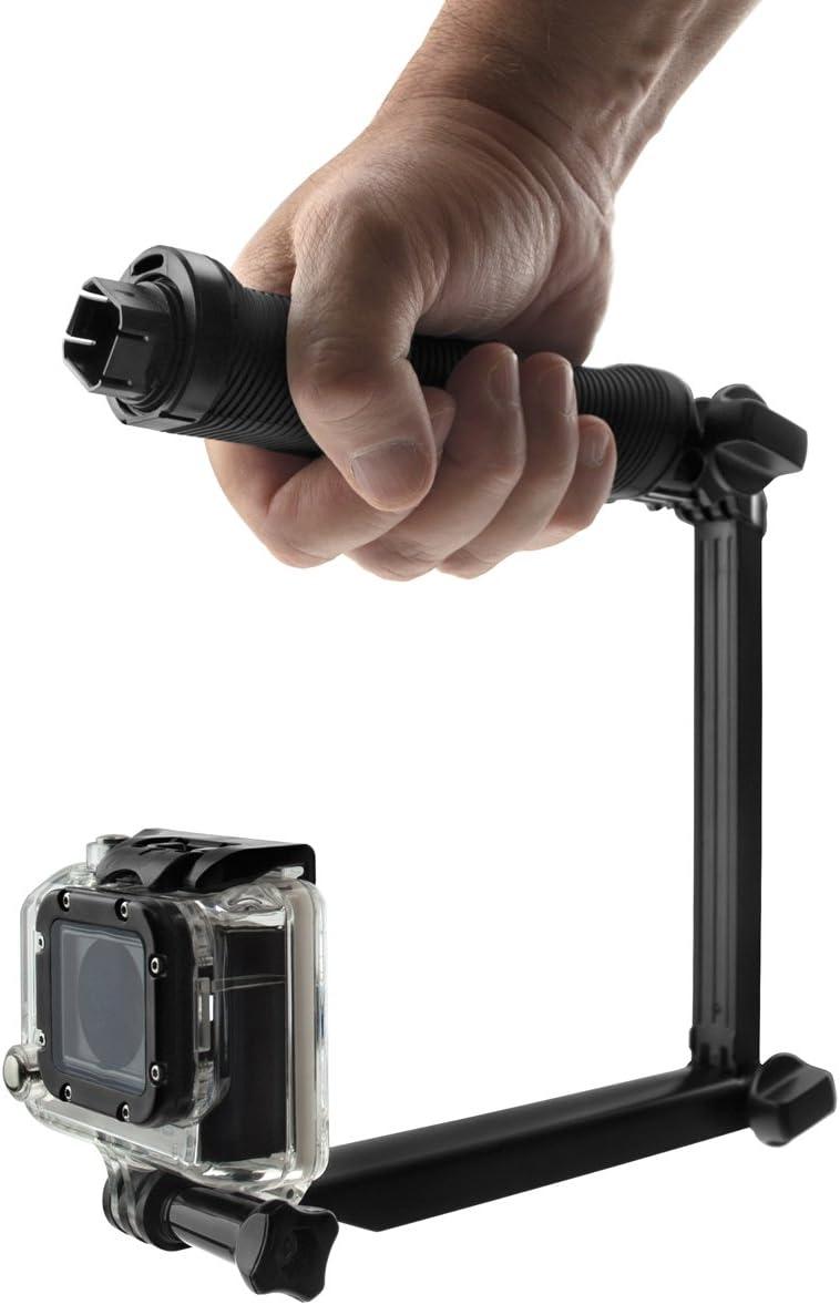 Black Xit XTGPBRK GoPro 6 in 1 Multi-Way Adjustable Bracket