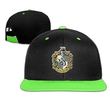 b3a1a91ae Kid Harry Potter Hufflepuff Hip Hop Hats Baseball Cap - -: Amazon.co.uk:  Clothing
