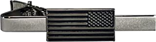 product image for Assault Forward Reverse American Flag Tie-Clip - Patriotic Menswear Accessories - Military Gifts for Men - Veteran Owned and Made in US