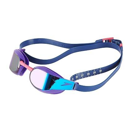 Amazon.com   Speedo-Goggles-Fastskin Elite Mirror Goggle-Purple ... 9d65f752a679