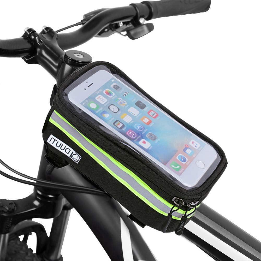TAOZYY Bicicleta Bicicleta Bicicleta Cabeza Tubo Mango Teléfono ...