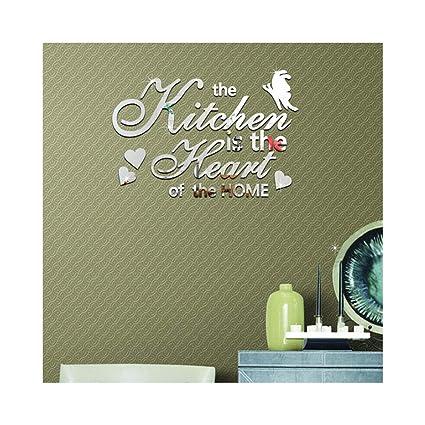 Amazon Com Creative Personalized English Letters Design Wall