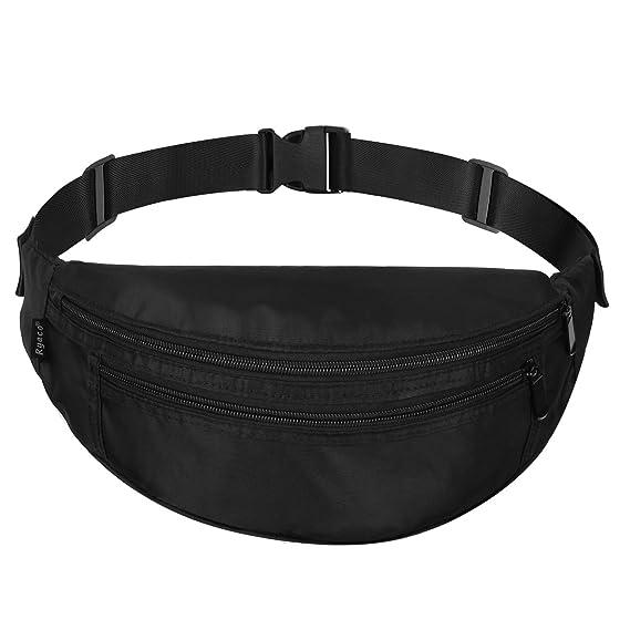RYACO Bauchtasche Gürteltasche für Damen und Herren, Handytasche Tasche Reise Wandern, Wasserdicht Hüfttasche Laufgürtel für