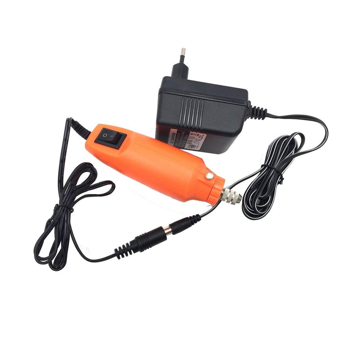 Baynne Electric Grinder Kit,Mini Handle Electric Drill Grinding Machine Engraving Pen Milling Trimming Polishing Drilling Cutting Engraving Tool Kit