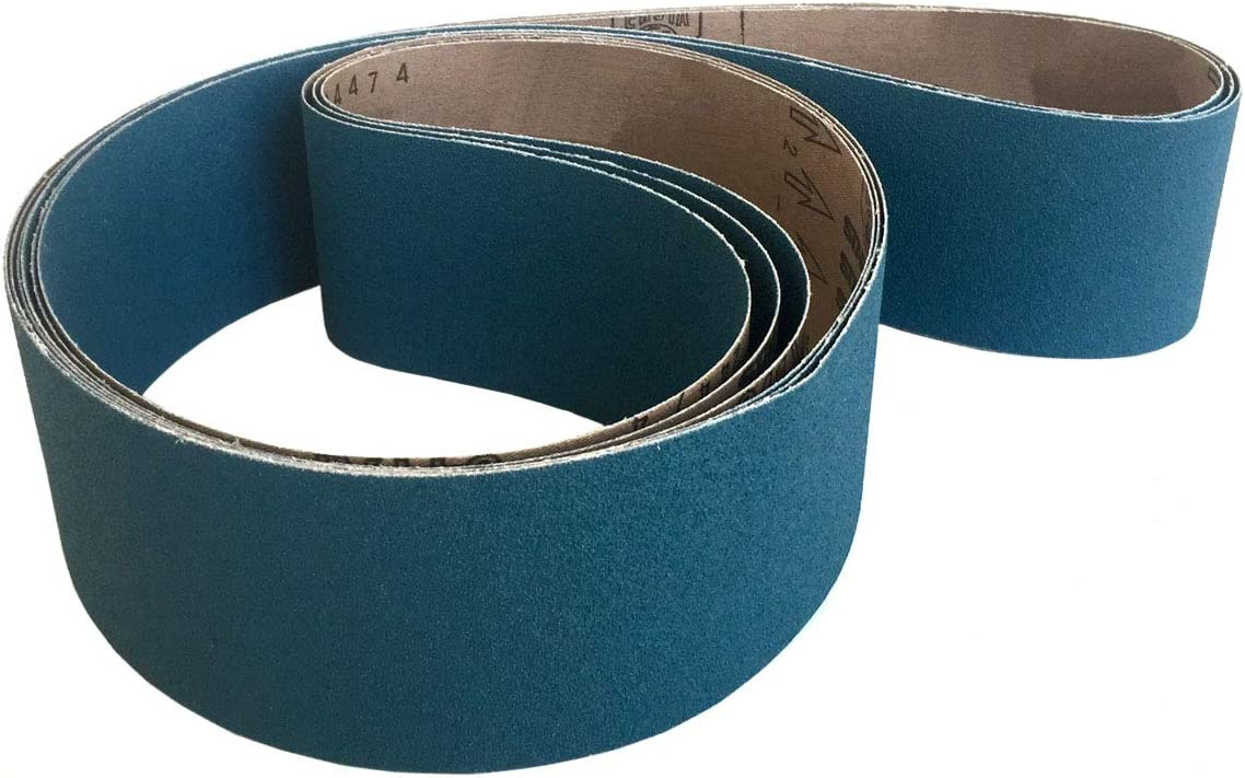 100 Grit 8 Pack Sanding Belts 3 X 18 German Zirconia Cloth Sander Belts